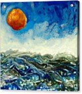 Ocean Run Acrylic Print