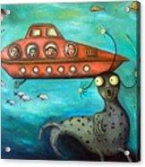 Ocean Screams Acrylic Print