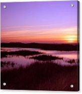 Ocean Shores Sunset Ss 1003 Acrylic Print