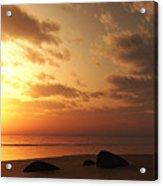 Ocean Side Sunset Acrylic Print