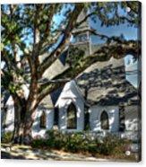 Ocean Springs Church Acrylic Print