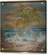 Ocean Storm Acrylic Print