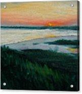 Ocean Sunset No.1 Acrylic Print