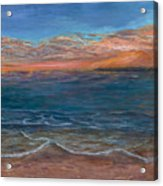 Ocean Sunset Series- Solitude II Acrylic Print