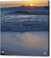 Ocean Wave Kisses The Sun Acrylic Print