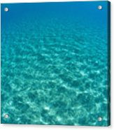 Ocean Surface Reflections Acrylic Print
