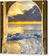 Ocean View Acrylic Print by Debra and Dave Vanderlaan