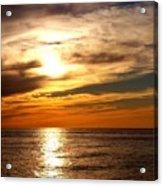 Ocean View Sunset Acrylic Print