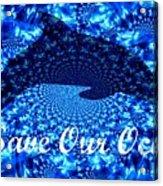Ocean Waters Acrylic Print