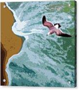 Ocean Waves - Two Acrylic Print