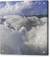 Ocean Waves Comin' At You Acrylic Print