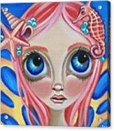 Oceanic Fairy Acrylic Print