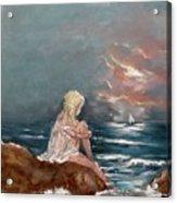 Oceanic Relaxation Acrylic Print