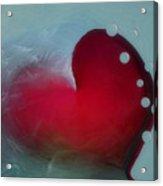 Oceans Heart Acrylic Print