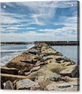 Oceanside Jetty Acrylic Print