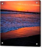 Oceanside Sunset Acrylic Print