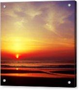 Ocen Sunrise. Acrylic Print