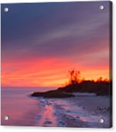 Ochlockonee Bay Sunrise Acrylic Print