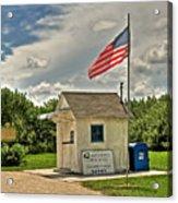 Ochopee Florida Post Office  Acrylic Print