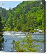 Ocoee River Acrylic Print
