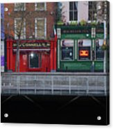 Oconnells Pub And The Batchelor Inn - Dublin Ireland Acrylic Print