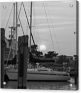 Ocracoke Sunset  Acrylic Print