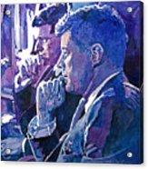 October 1962 Acrylic Print by David Lloyd Glover