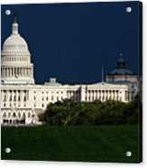October Capitol Acrylic Print