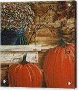 October Decor Acrylic Print