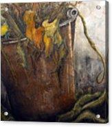 October Gardening Acrylic Print