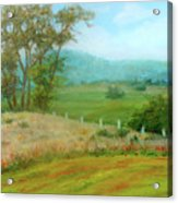 October Hills In Middletown Md Acrylic Print