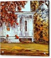 October House  Acrylic Print