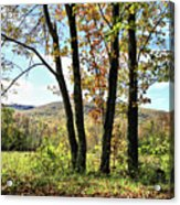 October In Vermont Acrylic Print
