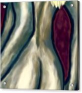 October Nude Acrylic Print