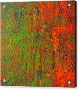 October Rust Acrylic Print