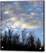 October Skies Acrylic Print