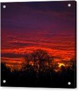 October Sunrise 2 Acrylic Print