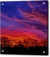 October Sunrise 3 Acrylic Print