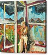 October Thirteenth  Acrylic Print