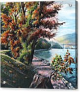 October Visiting Stanley Park Bc Acrylic Print