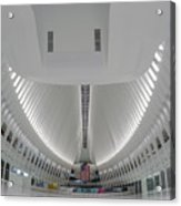 Oculus World Trade Center Wtc Transportation Hub Acrylic Print