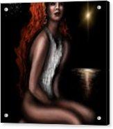 Odalisque Of Serenity  Acrylic Print
