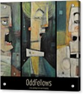 Odd Fellows Triptych Acrylic Print