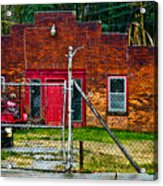 Odd Little Place Acrylic Print