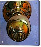 Ode To A Doorknob Acrylic Print