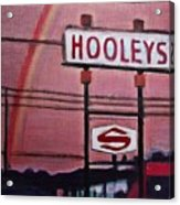 Ode To Hooley's Acrylic Print