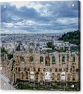 Odeon Of Herodes Atticus - Athens Greece Acrylic Print