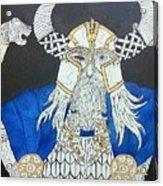 Odin Watching Acrylic Print