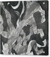 Odysseus Saved From Drowning By Inos Veil Acrylic Print