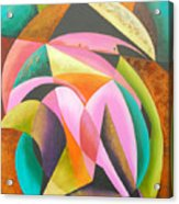 Odyssey Of Colors Acrylic Print